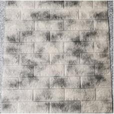 Панель самоклеющаяся 70х77 см-Цвет мрамор серый