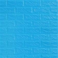Панель самоклеющаяся 70х77 см-Цвет голубой
