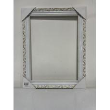 Рамка белая 30х40 см без крепления